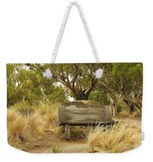 Secluded Bench Weekender Tote Bag