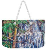 Secluded Waterfall Weekender Tote Bag