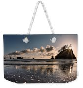 Second Beach Light And Current Weekender Tote Bag