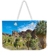 Second Largest Stand Of Fan Palms In The World In Andreas Canyon In Indian Canyons-ca Weekender Tote Bag