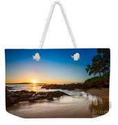 Secret Beach Sunset Weekender Tote Bag