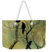 Secretive Crows Weekender Tote Bag