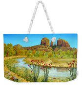 Sedona Arizona Weekender Tote Bag by Jerome Stumphauzer