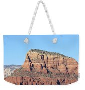 Sedona  Arizona  Mountain  Three Weekender Tote Bag