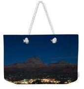 Sedona By Night Weekender Tote Bag