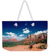 Sedona Desert Scene Weekender Tote Bag