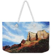 Sedona Mountains Weekender Tote Bag