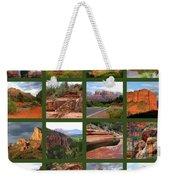Sedona Spring Collage Weekender Tote Bag