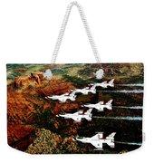 Sedona Thunderbirds Weekender Tote Bag by Benjamin Yeager