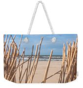 See Through On The Dutch Beach Weekender Tote Bag