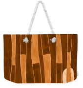 Seed Of Learning No. 1 Weekender Tote Bag by Carol Leigh