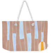 Seed Of Learning No. 3 Weekender Tote Bag by Carol Leigh