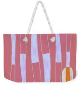 Seed Of Learning No. 4 Weekender Tote Bag by Carol Leigh