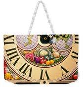 Seed Planting Clock Weekender Tote Bag