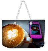 Seeing Double Latte Weekender Tote Bag