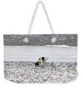 Seeking Sense Of Snow Weekender Tote Bag