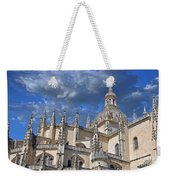 Segovia Gothic Cathedral Weekender Tote Bag by Ivy Ho