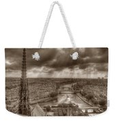 Seine From Notre Dame Weekender Tote Bag