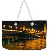 Seine's Current Weekender Tote Bag