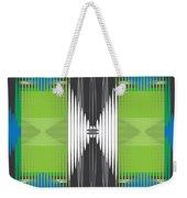 Seismic Rug Weekender Tote Bag