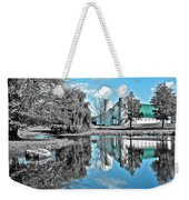 Selective Color Fall Day Weekender Tote Bag