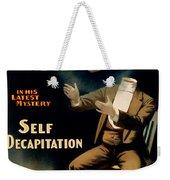 Self Decapitation Weekender Tote Bag