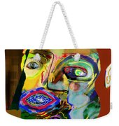 This One Acquired Wisdom 16 Weekender Tote Bag