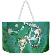 Self-esteem Necklace With Offerings Goddess Pendant Weekender Tote Bag