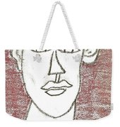 Self-portrait As A Young Man Weekender Tote Bag