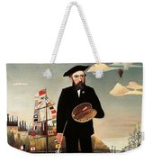 Self Portrait Weekender Tote Bag by Henri Rousseau