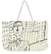 Self-portrait In Ny Weekender Tote Bag