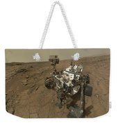Self-portrait Of Curiosity Rover Weekender Tote Bag