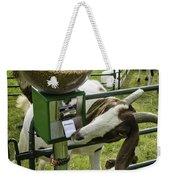 Self Serve Goat Weekender Tote Bag
