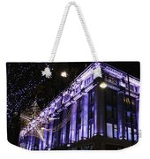 Selfridges London At Christmas Time Weekender Tote Bag
