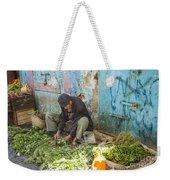 Selling Herbs In The Souk Weekender Tote Bag