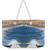 Selsey Mirrored Weekender Tote Bag