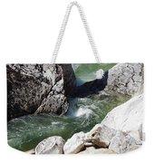 Selway Falls Bowl Weekender Tote Bag