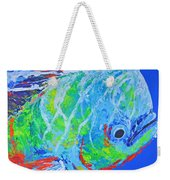 semi abstract Mahi mahi Weekender Tote Bag