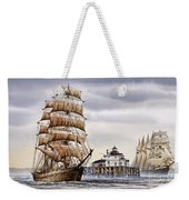 Semi-ah-moo Lighthouse Weekender Tote Bag