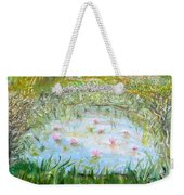 Semi-synchronized Swimming Weekender Tote Bag