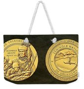 Seminole Nation Code Talkers Bronze Medal Art Weekender Tote Bag
