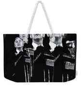 Senator Eugene Mccarthy  Collage Democratic Nat'l Convention Miami Beach Florida 1972-2012  Weekender Tote Bag