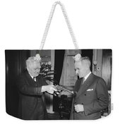 Senatorial Stickup Weekender Tote Bag
