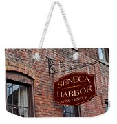 Seneca Harbor Wine Center Weekender Tote Bag