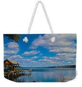 Seneca Lake At Glenora Point Weekender Tote Bag