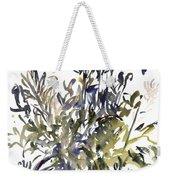 Senecio And Other Plants Weekender Tote Bag