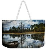 Seney And The Rowboat Weekender Tote Bag