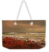 Sennen Storm Weekender Tote Bag by Linsey Williams