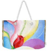 Sensitive Touch Weekender Tote Bag
