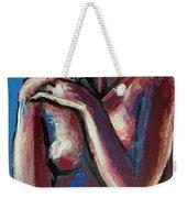 Sentimental Mood- Female Nude Weekender Tote Bag